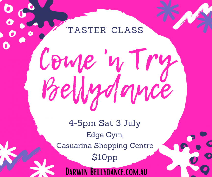 Come 'n Try Bellydance Class
